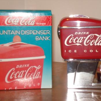 Coca Cola Fountain Dispencer Bank - Coca-Cola