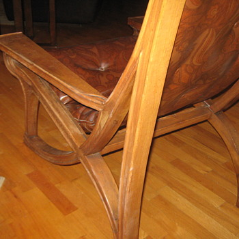 19th century chair unknown maker