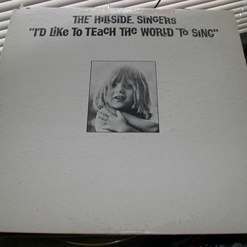 "THE HILLSIDE SINGERS ""I'D LIKE TO TEACH THE WORLD TO SING"" METROMEDIA RECORDS - Records"