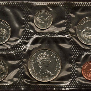 1986 - Canada Proof-Like Coins Set - World Coins
