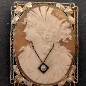 Antique Cameo Brooch - Comments? - Fine Jewelry