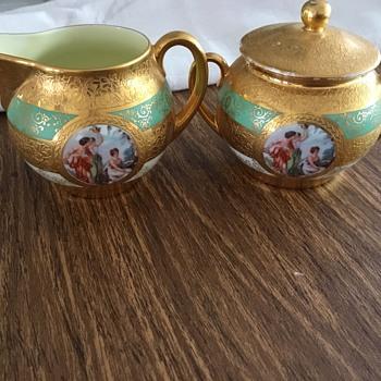 Bone China Hand Decorated with 24 Karat Gold - China and Dinnerware