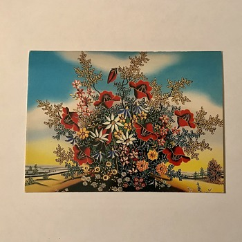 """Flowers"" by Ana Bocak  - Postcards"