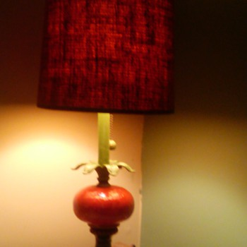 how old is my tomato lamp - Lamps