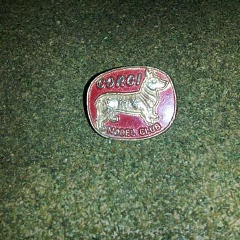 Corgi Toys Model Club Pin