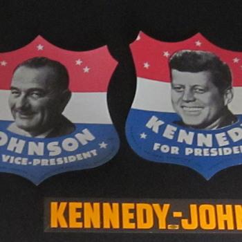 Kennedy and Johnson 1960 - Politics