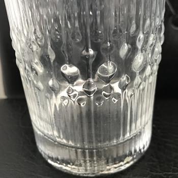 Mid century modern drinking glasses. - Glassware