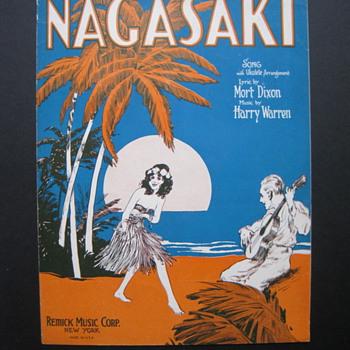 Nagasaki - Music Memorabilia