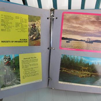 1970's Alaska Postcard Album - Postcards