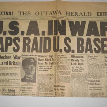 1941 Ottawa, Ks. newspaper