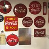 my catalan Coke sign collection