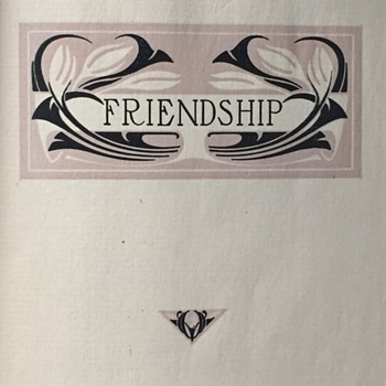 Friendship a compilation by John.C.Quincy.