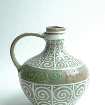 small art deco pitcher byLEON ELCHINGER - Art Deco