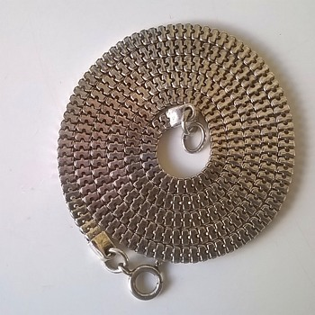 .835 Silver Necklace, Thrift Shop Find $1.00 - Fine Jewelry