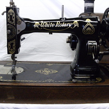 1928 WHITE FAMILY ROTARY... and YES, it works! - Sewing