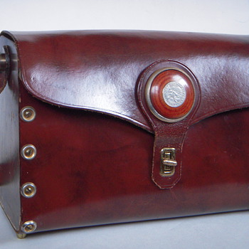Vintage Pocketbook, Interesting Construction~Arje, Providence RI