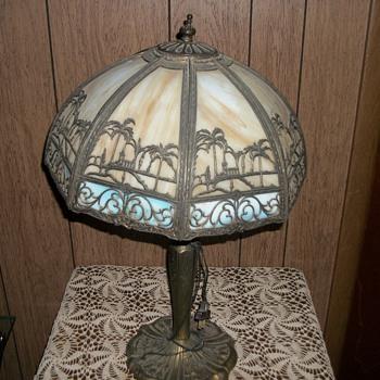 Bradley & Hubbard lamp - Lamps