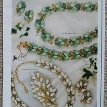 A great 1960 Coro Jewelry Ad!  - Advertising