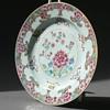 18th century YONGZHENG / QIANGLONG famille rose plate