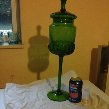 My big green monster - Glassware