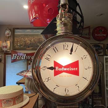 Budweiser pocket watch clock  - Advertising