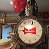 Budweiser pocket watch clock