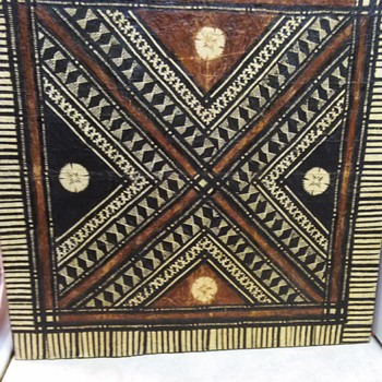 FIJI TAPA MASI ARTWORK - Fine Art