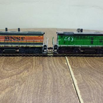 BNSF Switchers - Model Trains