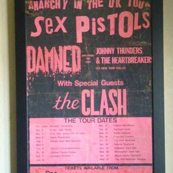 Anarchy Tour poster 1976 - Posters and Prints