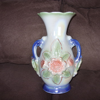 1924 brazil two handle vase - Pottery