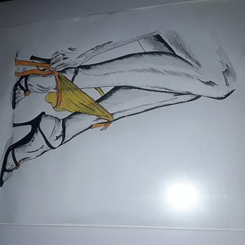 Saucy sketches - Fine Art