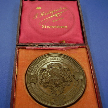 Huge 1895 Medallion