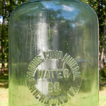 RICHMOND VA  COMO MINERAL WATER