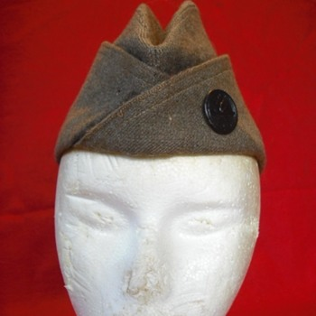 WWI US Overseas Cap #1 – 1918 Issue - Military and Wartime
