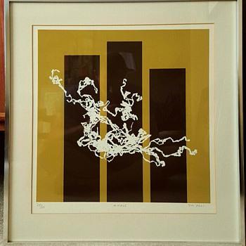 Mid Century Modern Art Print By Jim Foli - Mid-Century Modern