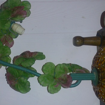 stained glass flower lamp - Lamps
