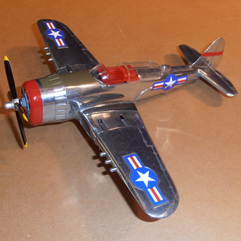 Overhauled 1st Production Hubley 495 Fighter-Bomber 9th AAF - Toys
