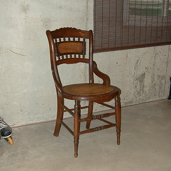 AN OLD CHAIR - Furniture