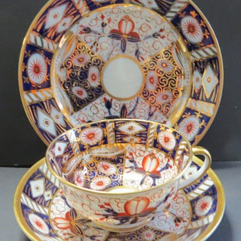 Imari Tea Cup Trio - Birks, Rawlins & Co - Stoke-on-Trent - China and Dinnerware