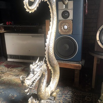 Brass Dragon. - Animals