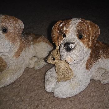 Chalk dogs  - Animals