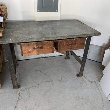 Antique work table  - Furniture