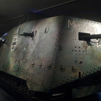 Mephisto - the last extant A7V tank - Military and Wartime