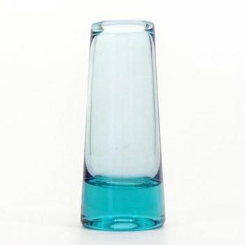 Laguneblaa vase, Per Lütken (Holmegaard, 1960) - Art Glass