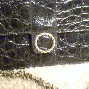 ROGER & GALLET CHAIN PURSE CROCODILE? - Bags