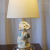 Antique Children's Elephant Lamp