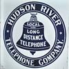 Hudson River Telephone Co. Porcelain Sign