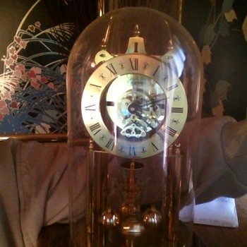 my favorite Germany 12in. Elgin skeleton clock - Clocks