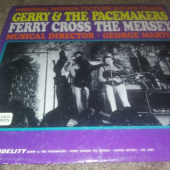 Gerry And The Pacemakers...On 33 1/3 RPM Vinyl - Records