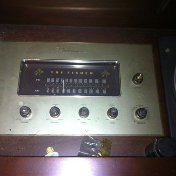 Fisher Philharmonic V Radio